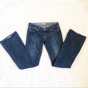 Paige Laurel Canyon Low Rise BootCut Jeans 29
